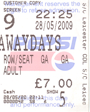 awaydays ticket