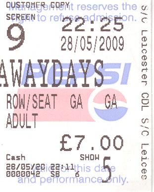awaydays ticket