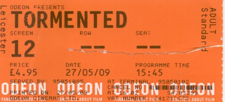 tormented ticket