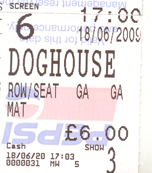 doghouse ticket